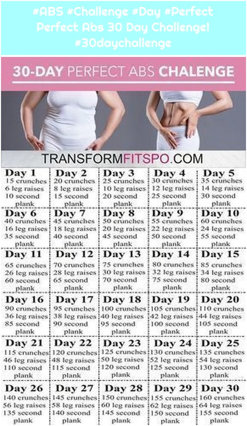 #ABS #Challenge #Day #Perfect Perfect Abs 30 Day Challenge! #30daychallenge